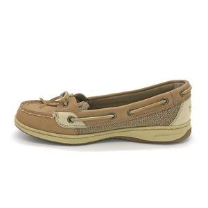 Sperry Angelfish Top Sliders Boat Shoe Oat 7M
